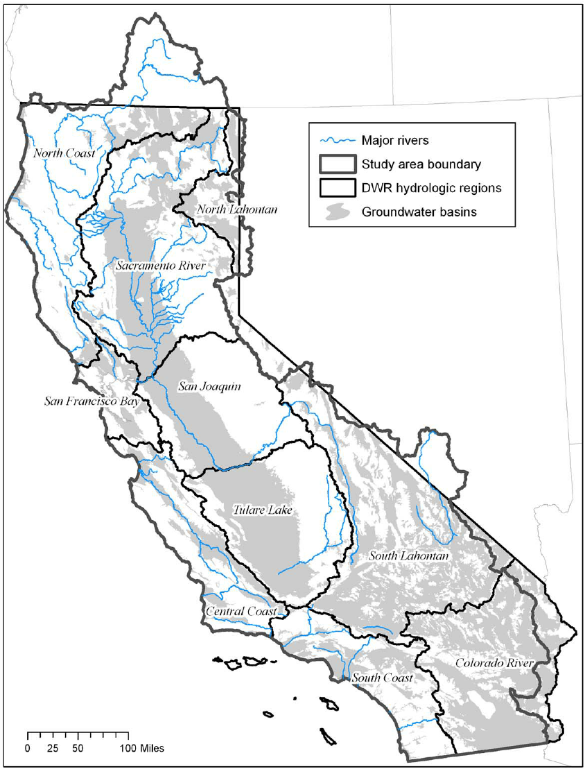 Surface Water Delivery System, California