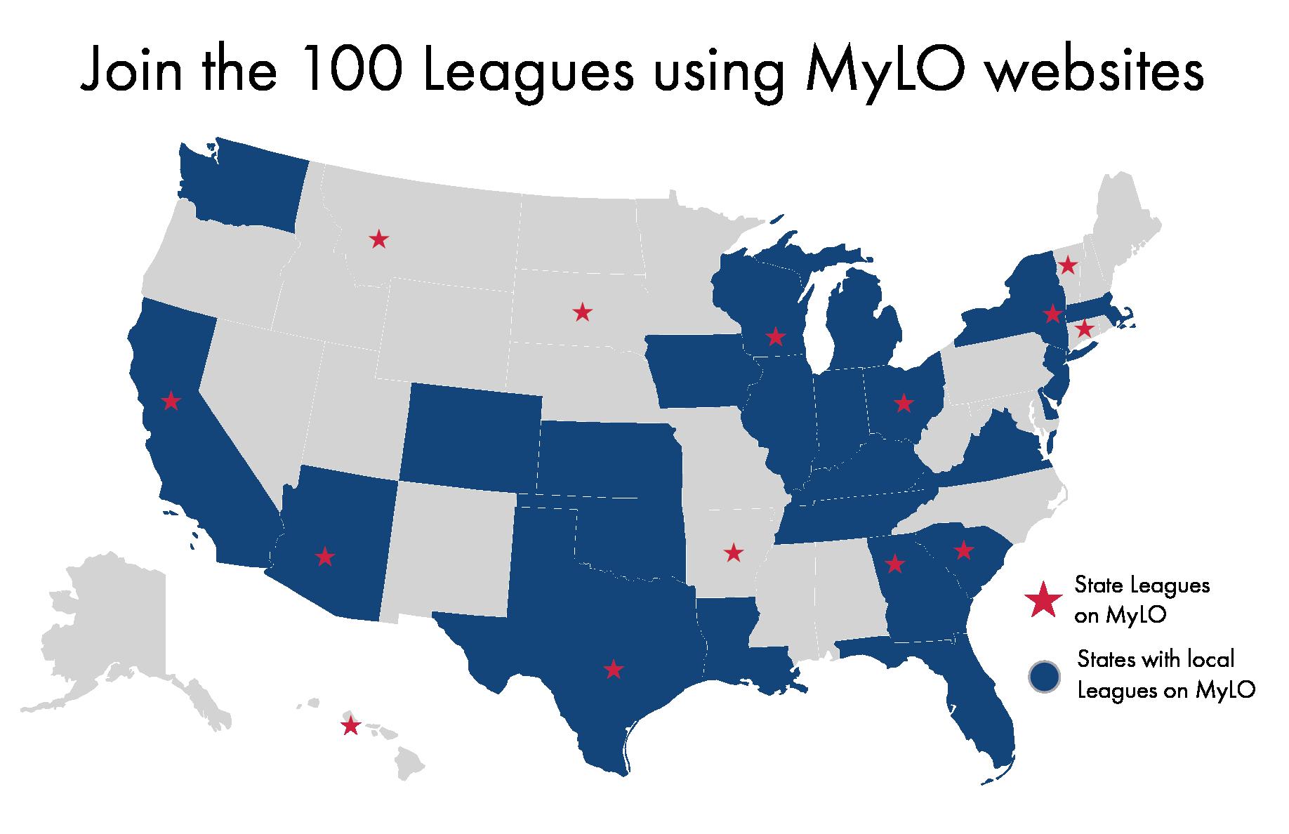 My League Online Map