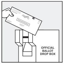 Drop off your ballot at a vote center in participating counties, voting, elections, california
