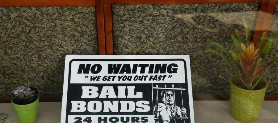 Bail bond photo by Eric Risberg from The Associated Press