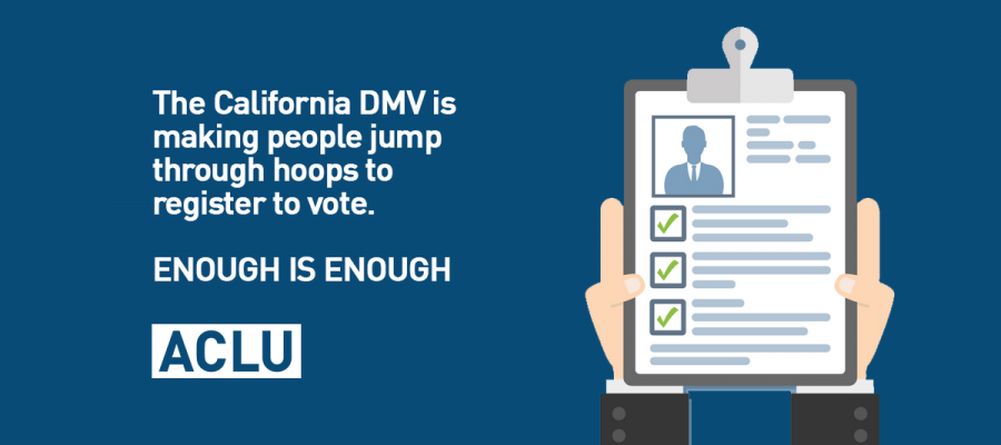 Voting Rights Groups Sue California DMV for Voter Suppression ...
