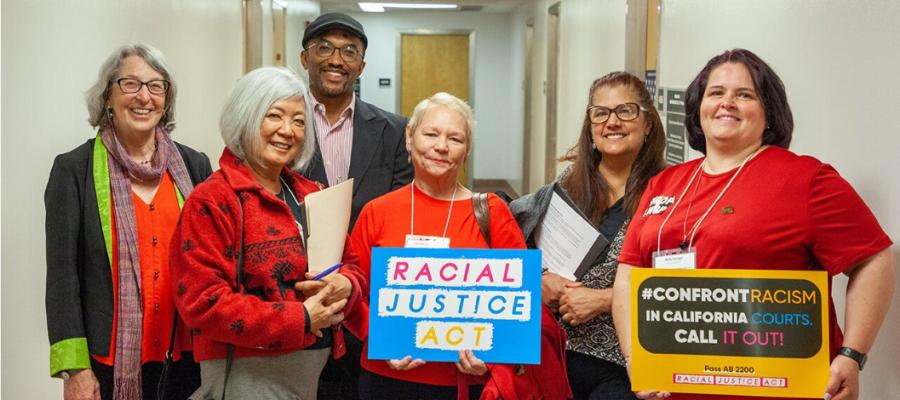 League CoSponsors California Racial Justice Act