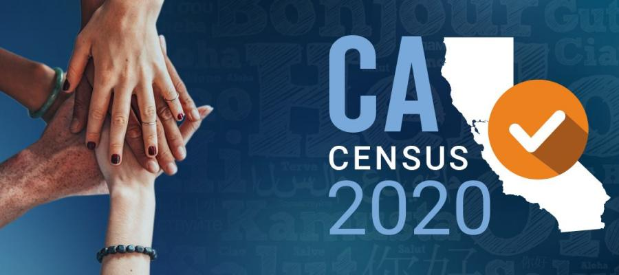 CA Census, be counted, California, Census, Community