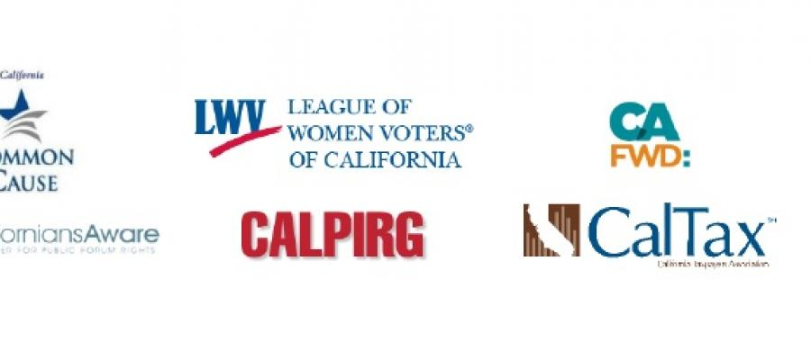 Prop 54, tranparency, California Legislature, League of Women Voters, compliance