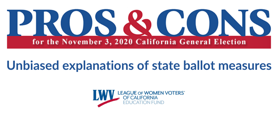 Pros and cons on the ballot measures, voter guides, California, voting, propositions