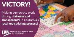 Fair Maps Act signed by Gov Newsom