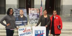 voting rights, freethevote, voting, elections, League of WOmen Voters of California, civil rights