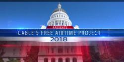 Free Airtime Project, cavotes, election, candidates, California