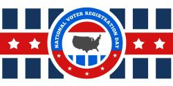 National VOter Registration DAy Sign up, NVRD, California, league of women voters education fund, voting, elections