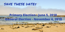 election dates 2018, voting, California, cavotes, League of women voters of California education fund
